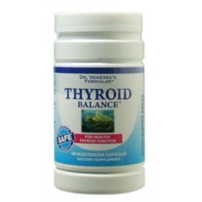 Dr Venessa's Formulas Thyroid Balance 60 Vegetarian Capsules