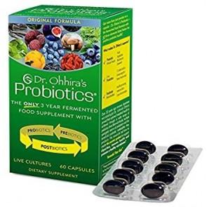 Dr. Ohhiras Probiotics 60 Capsules