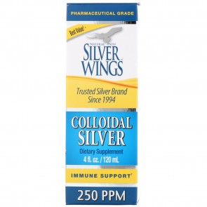 Natural Path Silver Wings Colloidal Silver 250 PPM 4 fl oz (Dropper)