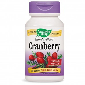 Nature's Way Cranberry Tablets 60 Capsules