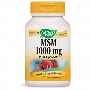 Nature's Way MSM 1000 mg 120 Tablets