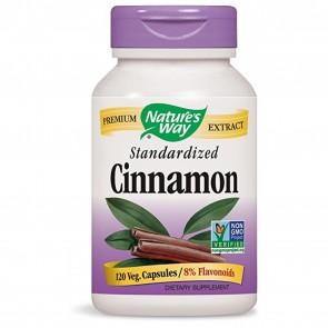 Nature's Way Cinnamon Standardized 60 Capsules