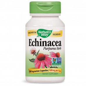 Nature's Way Echinacea Purpurea Herb 100 Capsules