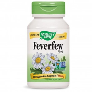 Nature's Way Feverfew 100 Capsules