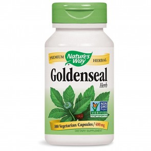 Nature's Way Goldenseal Herb 100 Capsules