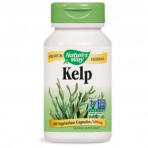 Nature's Way Kelp 100 Capsules