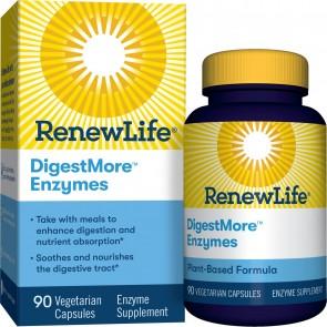 RenewLife DigestMore Enzymes 90 Vegetarian Capsules