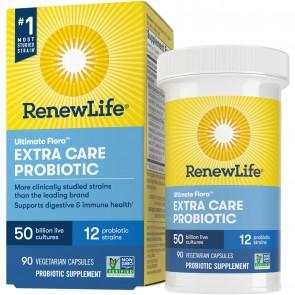 Renew Life Ultimate Flora Extra Care Probiotic 50 Billion 90 Vegetarian Capsules