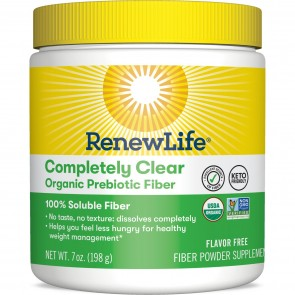 Renew Life Completely Clear Organic Prebiotic Fiber