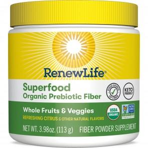 Renew Life Superfood Organic Prebiotic Fiber 3.98 oz