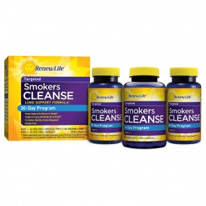 Renew Life Smokers Cleanse 30-Day Program 120 Capsules