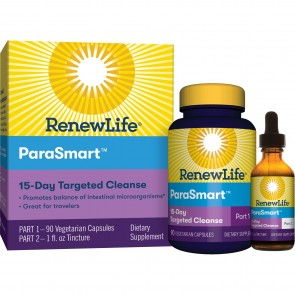 Renew Life Targeted Para Smart Microbial Cleanse 15-Day Program