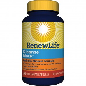 Renew Life Cleanse More 60 Vegetable Capsules