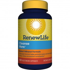 Renew Life Cleanse More 100 Vegetable Capsules