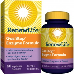 Renew Life Gas Stop Fast Acting 60 Vegetable Capsules