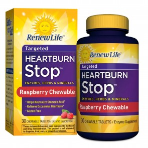 Renew Life Heartburn Stop 30 Chewable Tablets