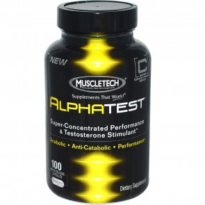 Muscletech- Alpha Test 100 Capsules