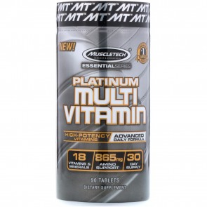 MuscleTech Platinum Multivitamin 90 caps