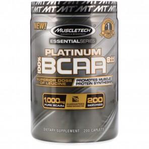 MuscleTech Platinum BCAA 8:1:1 200 Caplets