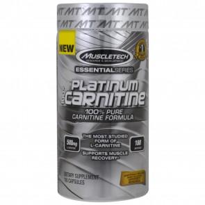 MuscleTech Platinum 100% Carnitine 180 capsules
