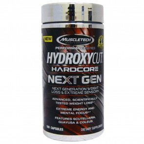 Muscletech Hydroxycut Hardcore Next Gen 100 Capsules