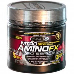 Muscletech Pro Series Nitro AminoFX, Fruit Punch- 0.85 lb