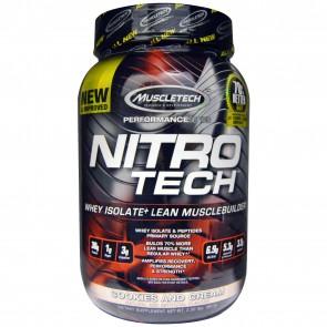 MuscleTech Nitro Tech Cookies & Cream 2 lbs