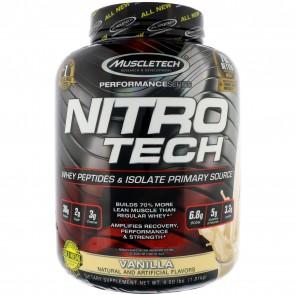 MuscleTech Nitro Tech Vanilla 4 lbs