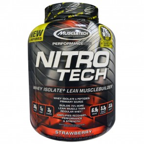 MuscleTech Nitro Tech Strawberry 4 lbs
