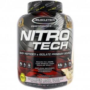 MuscleTech Nitro Tech Cookies & Cream 4 lbs