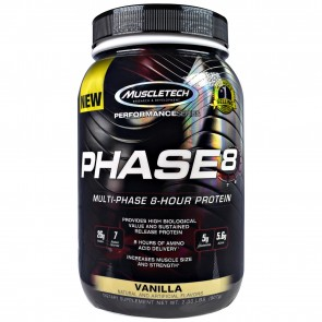 Muscletech Phase 8 Vanilla 2 lbs