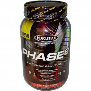 Muscletech Phase8 Strawberry 2 lbs