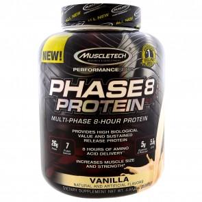 MuscleTech Phase 8 Vanilla 4.4 lbs