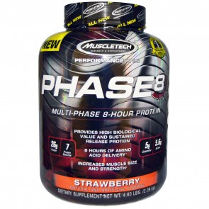 Muscletech Phase8 Strawberry 4.4 lbs