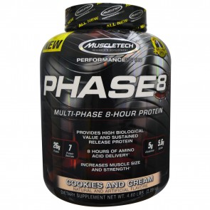 MuscleTech Phase 8 Cookies And Cream 4.46 lbs