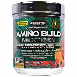 Muscletech Amino Build Fruit Punch 0.59 lbs