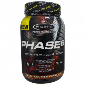 Muscletech Phase 8 Peanut Putter Chocolate 2 lbs