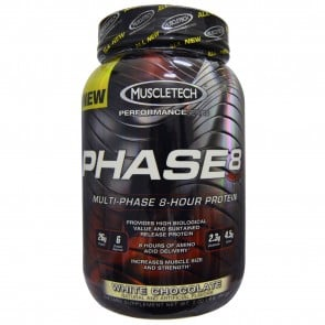 MuscleTech Phase 8 White Chocolate 2 lbs
