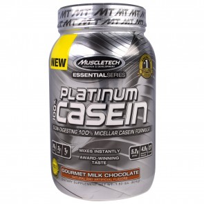 MuscleTech Platinum 100% Casein Gourmet Milk Chocolate 1.82 lbs