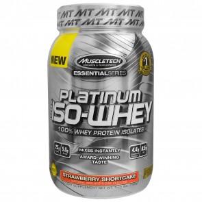 MuscleTech Platinum 100% Iso Whey Strawberry Shortcake 1.75 lbs