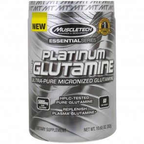 MuscleTech Platinum 100% Glutamine 10.65 oz
