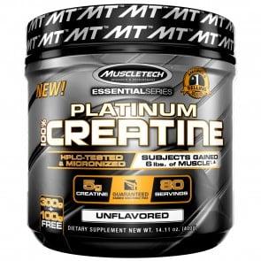 MuscleTech Platinum 100% Creatine 0.88 lbs