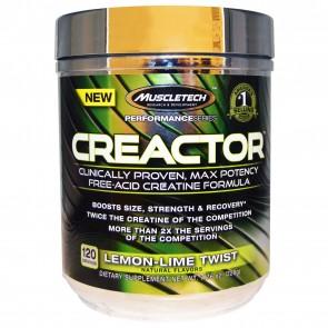 MuscleTech Creactor Lemon Lime Twist 7.16 oz