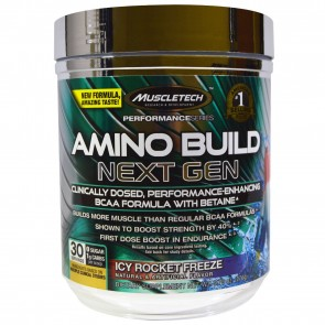 MuscleTech Performance Series Amino Build Next Gen Icy Rocket Freeze 30 Servings