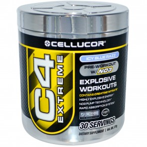 Cellucor C4 Extreme Icy Blue Raspberry 30 Servings