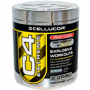 Cellucor C4 Extreme Fruit Punch 30 Servings