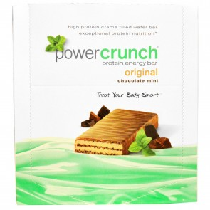 Power Crunch Original Chocolate Mint 12 Protein Bars