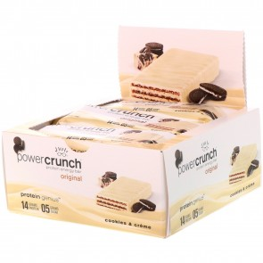 Power Crunch Original Cookies & Crème 12 Protein Bars