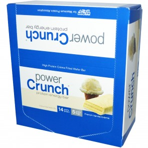 Power Crunch Bar French Vanilla Cream 12,1.4 oz