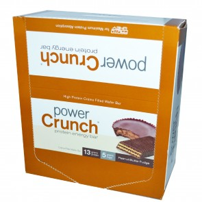 Power Crunch Original Peanut Butter Fudge 12 Protein Bars